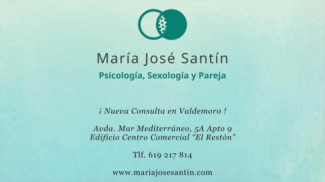 """""""Centro de Psicología, Sexología y Pareja María José Santín"""" y nueva web"""
