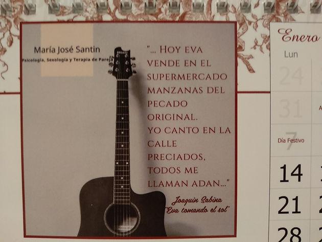 Propuesta Musical Enero Eva Tomando El Sol De Joaquín Sabina
