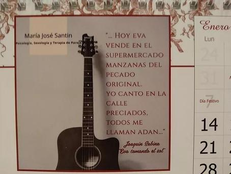 """Propuesta musical Enero: """"Eva tomando el Sol"""" de Joaquín Sabina"""