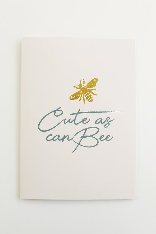 Cute As Can Bee Card Set (set of 5)