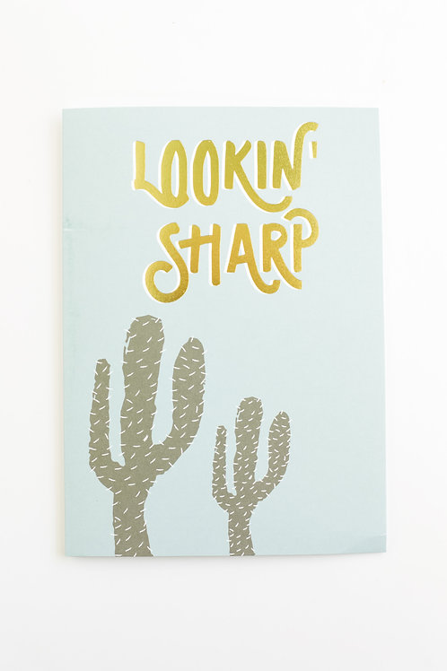 Lookin' Sharp Card Set (set of 5)