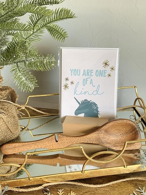 Resting Spoon/Card Set-Holiday Bundle