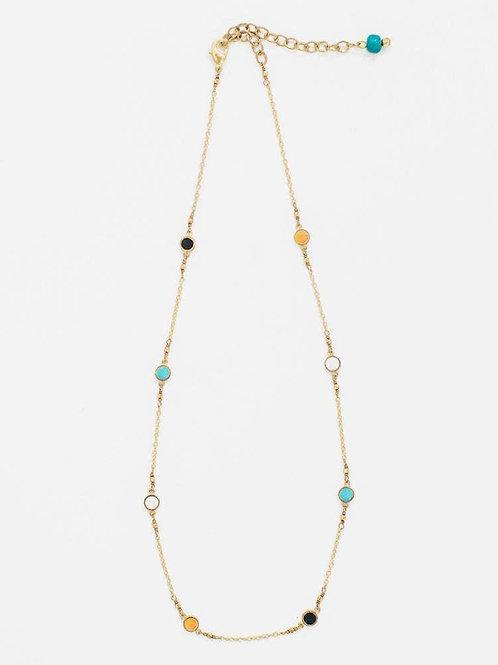 Dainty Dot Necklace-Multi