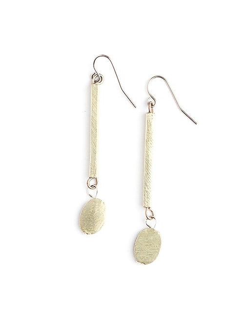Seble Dangle Earrings-Silver