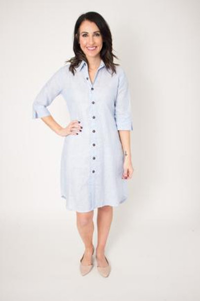 Blue Quad Dress