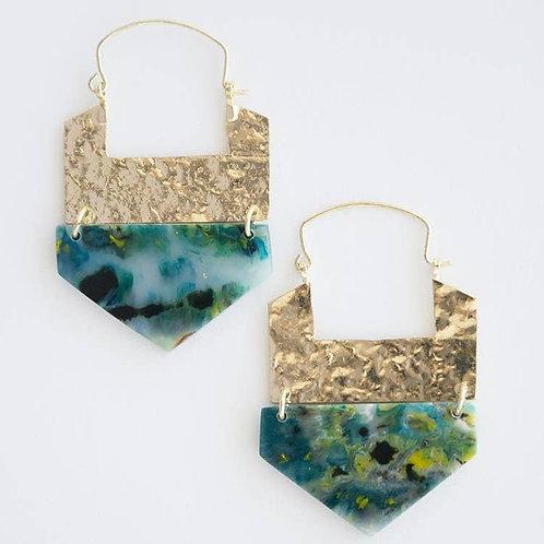 Resin Hook Earrings