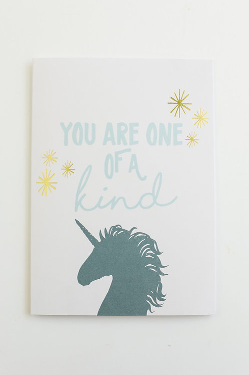 You Are One of a Kind Card Set (set of 5)