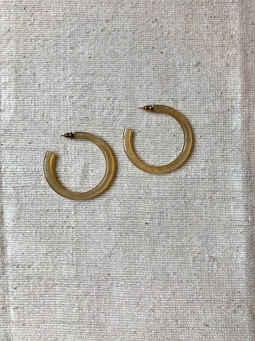 Horn Rounded Hoops