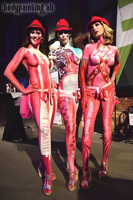 Bodypainting Pink Ribbon 2017