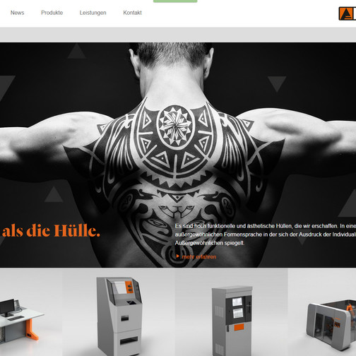 Schinko Bodypainting Werbung