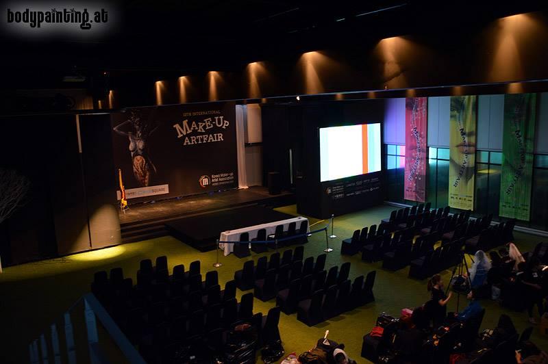 The venue inside