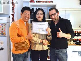 BP-Workshop für Südkoreanerin