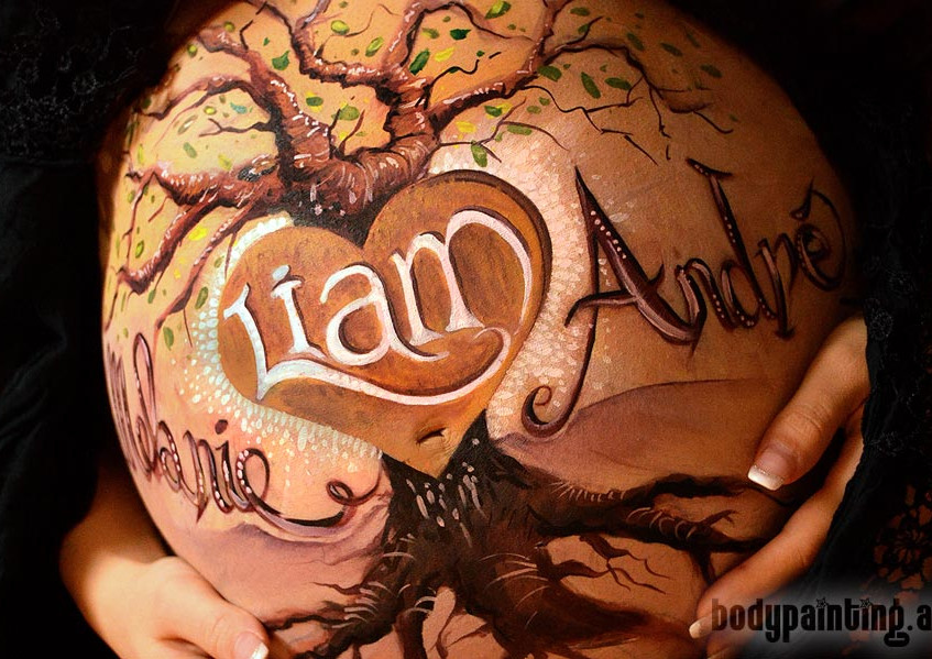 Babybauch-Bodypainting-Liam_004