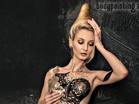 Opernredoute 2014 in Graz - festliches Bodypainting