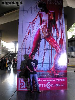 Arte Corporal in Caracas, Venezuela 2011