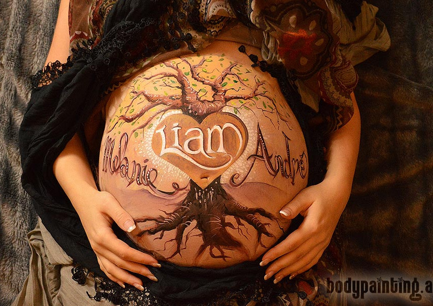 Babybauch-Bodypainting-Liam_001