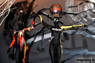 Halloween Actionpainting in Seoul