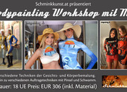 Bodypainting Workshop in Graz