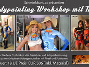 Bodypainting Workshop in Graz