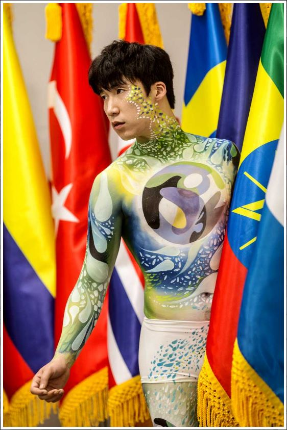 UN Bodypainting-Mike Shane