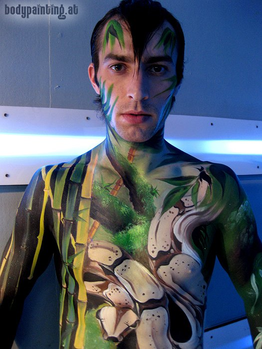 Koh Samui Bodypainting by Mike Shane
