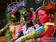 Action-Painting beim Ötztaler Radmarathon