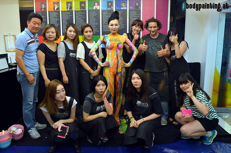 bodypainting_ws_bbs_artschoolMike Shane Bodypainting Beauté Artchool in Cheongju South-Korea