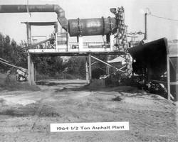 Asphalt Plant in 1964