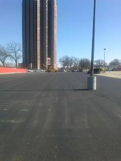 Asphalt Parking Lot