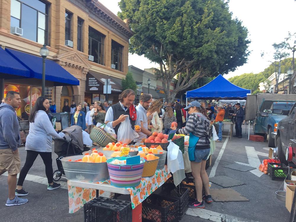 Farmers Market Friday, San Luis Obispo, Ca