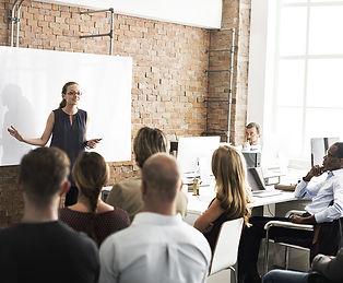 Large Group Presentation-bigstock-Busine