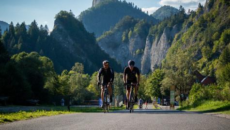 Slovak Tatras from behind