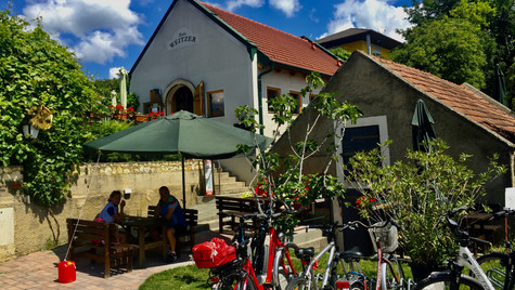 Wine stop on the road