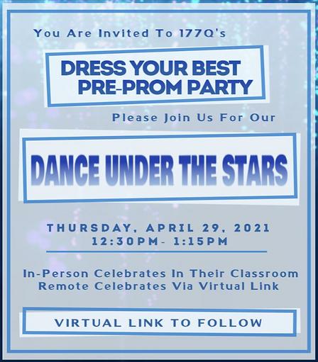 P177Q Dance Under The Stars Invitation
