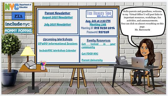 Parent Coordinator Virtual Workspace