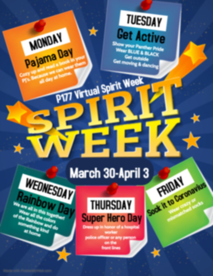 Copy of Copy of Spirit Week - Made with