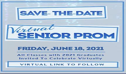 P177Q Virtual senor Prom Invitation