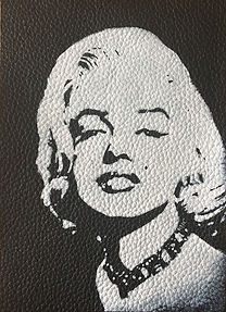 MARILYN MONROE LEATHER PATCH.jpg