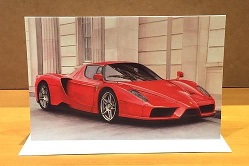SALE Ferrari Enzo medium card