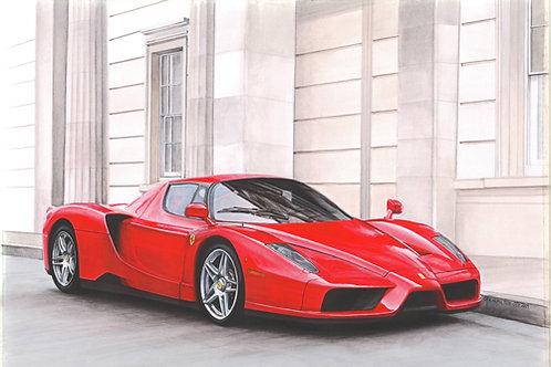 Ferrari Enzo print HALF PRICE