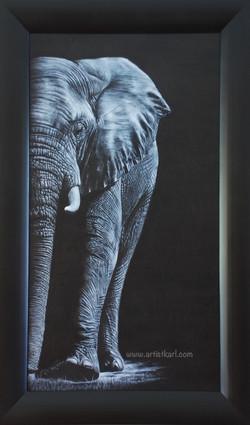 Up Close - elephant