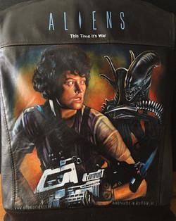 Alien themed jacket