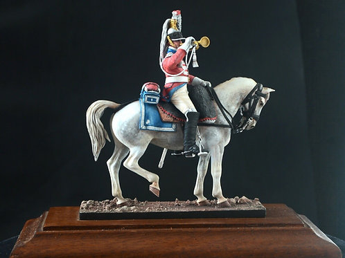 1st Regiment Cuirassier completed 54mm figurine hand-painted