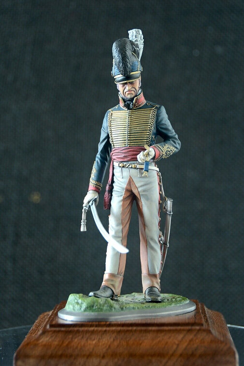 Royal Horse Artillery 1815 handpainted figure - completed model