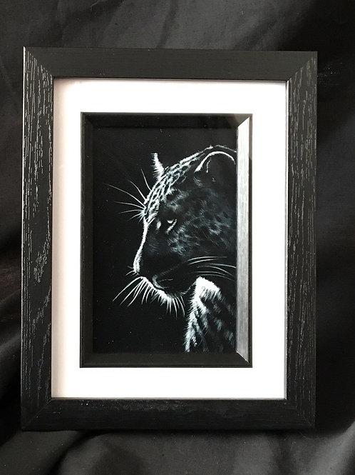 Leopard - Silhouette