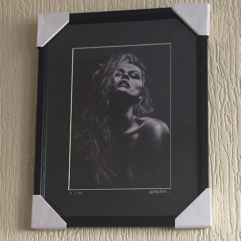 Temptress Limited Edition mounted and framed print SALE