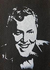 BILL HALEY LEATHER PATCH