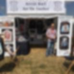 Art On Leather artwork Guns n Roses Flying Legends Duxford trader commission @artistkarl