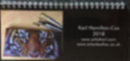 calendar original artwork