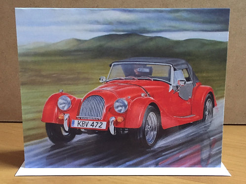 SALE Morgan Roadster Red small card